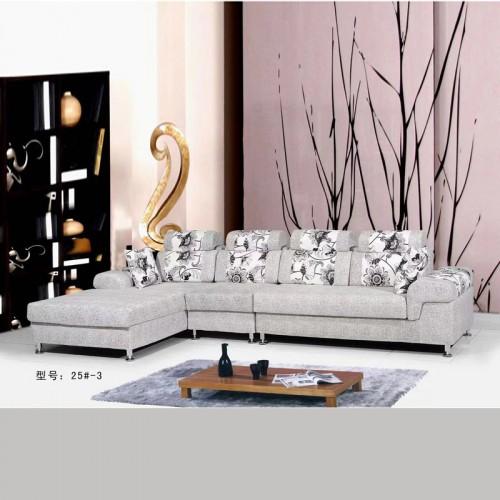 新品布艺沙发客厅转角沙发价格25#-3