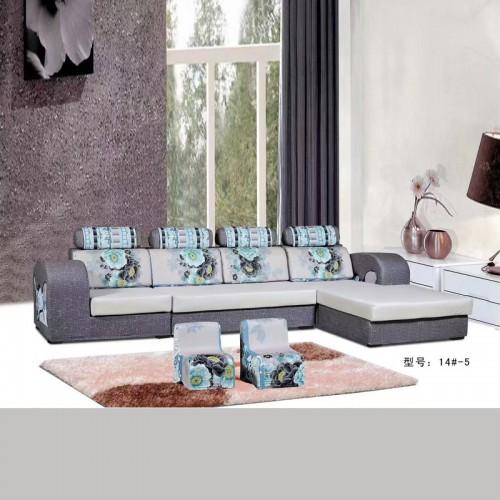客厅布艺组合沙发批发厂家14#-5