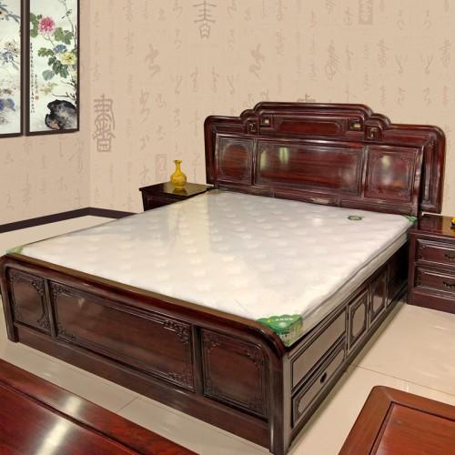 品牌直营红木双人床 主卧1.8m大床批发12