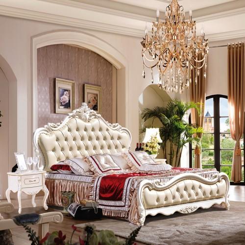 厂家直销欧式双人床卧室套房家具 1032