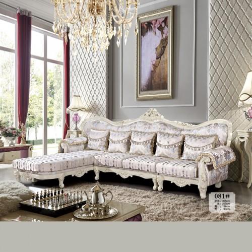 厂家生产欧式沙发客厅布艺沙发价格 081#