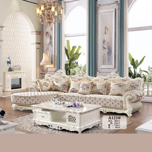 欧式豪华客厅沙发供应商现货 A123#