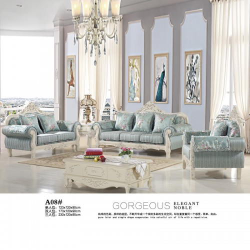 欧式客厅沙发生产厂家 客厅家具供应商 A08#