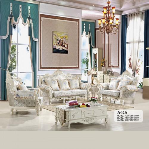 客厅家具生产厂家 欧式布艺沙发厂家  A02#