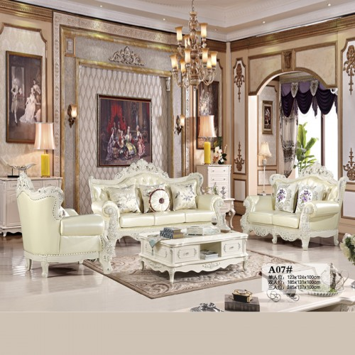 客厅沙发组合 现代欧式沙发生产厂家 A07#