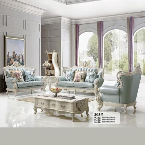 特价促销新款欧式皮艺沙发组合 305#