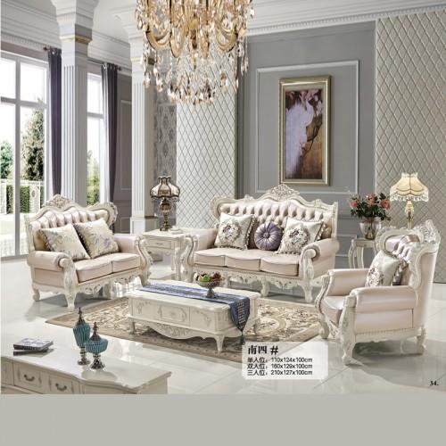 新款客厅沙发批发厂家 定制欧式沙发价格 南四#