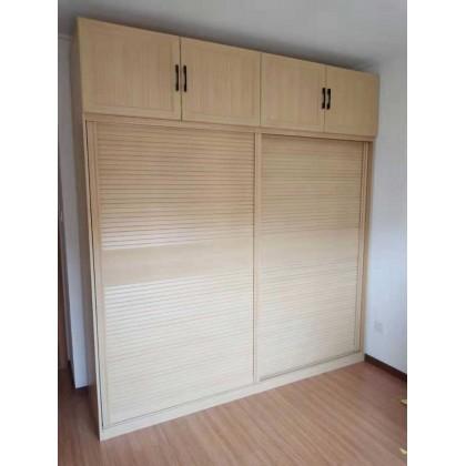 北京百家邦全铝定制现代简约卧室衣柜 储物柜
