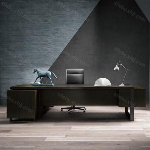 现代时尚大班台经理总裁桌老板桌38