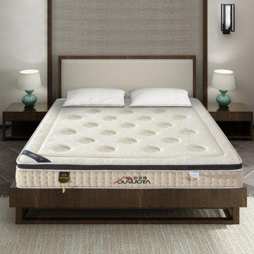 独立弹簧软垫 天然乳胶软硬两用床垫定制 06#
