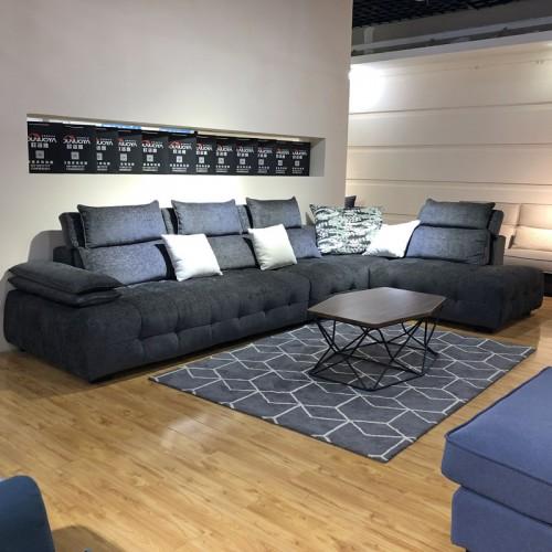 客厅转角沙发 休闲布艺沙发厂家定做1026#