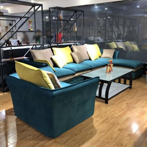 布艺沙发品牌厂家  时尚现代沙发价格1001#