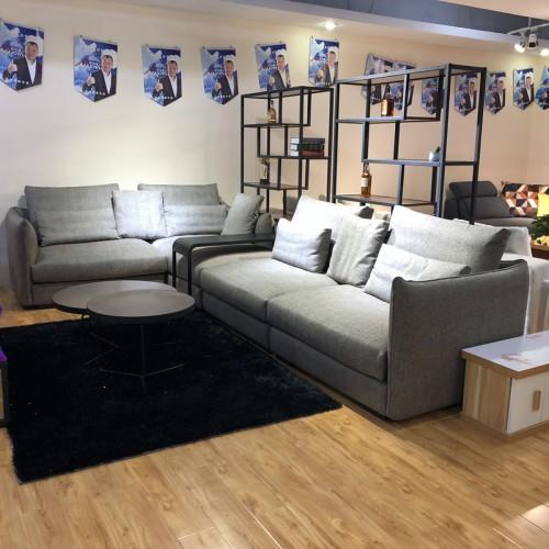 品牌布艺沙发 休闲组合沙发厂家定制1038#