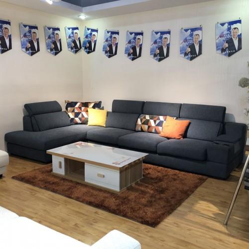 客厅休闲沙发价格 布艺沙发厂家品牌1014#