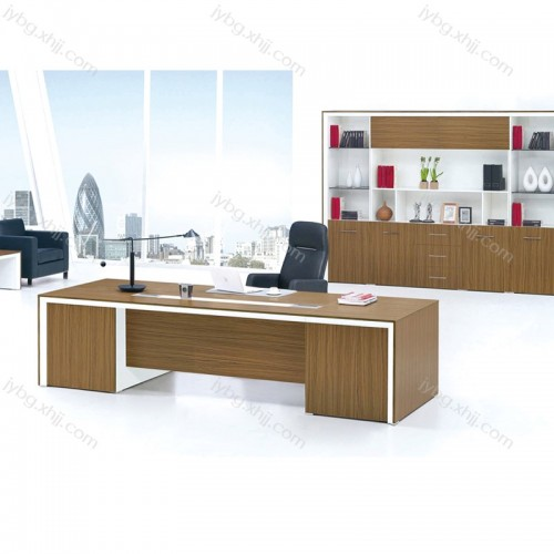 板式办公家具 办公室经理台批发价格  JY-JLT-12#