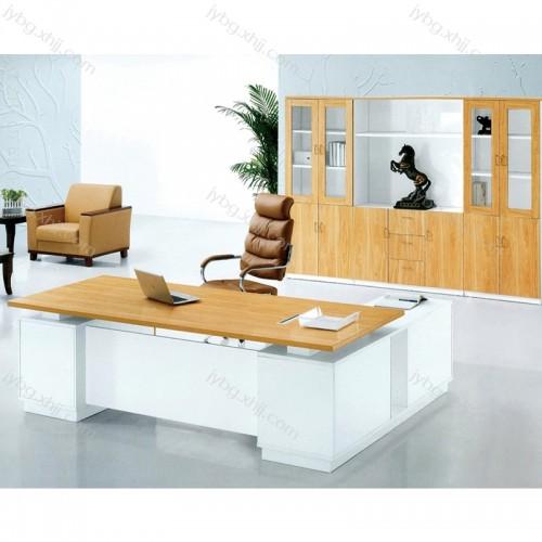 板式老板桌简约现代大班台经理台  JY-JLT-09#