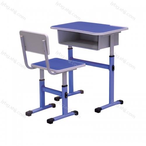 单人可圣剑课桌椅厂家定制批发JY-KZY-08#
