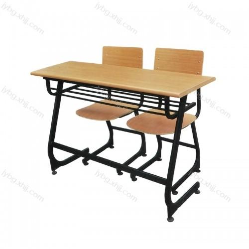 辅导班培训班双人钢架学习桌椅 JY-KZY-17#