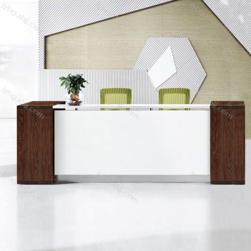 简约现代美容院吧台桌咨询台前台 JY-QT-01#