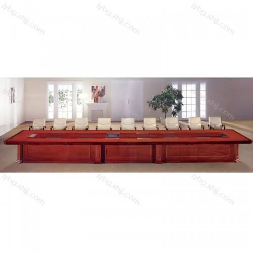 油漆会议桌定做厂家 商务会议桌采购价格JY-HYZ-02