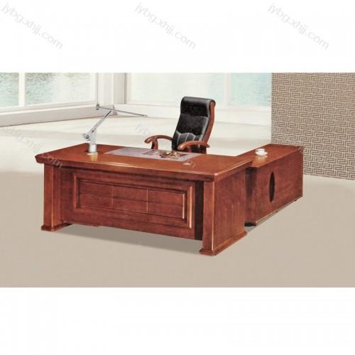 油漆老板办公桌班台桌促销厂家JY-BT-09