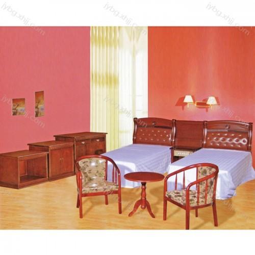 厂家直销酒店套房标准间单人床家具JY-JDTF-17