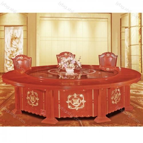 专业生产酒店饭店包厢电动餐桌 JY-CZ-23