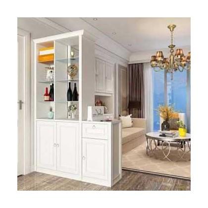 全铝定制家具 全铝隔断柜 间厅柜