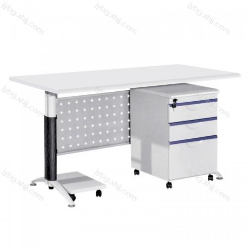 厂家定做电脑办公桌 钢制防火办公桌JY-BGZ-22