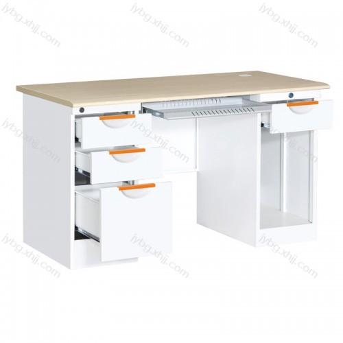 钢制办公电脑桌财务桌采购批发JY-BGZ-12