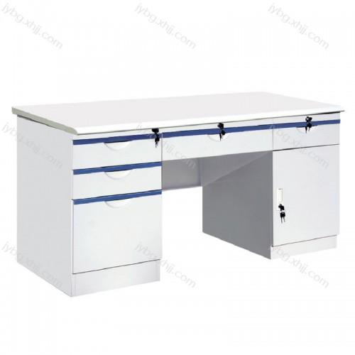 钢制办公桌写字台定制厂家JY-BGZ-08