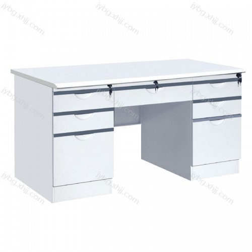 办公家具时尚钢制办公桌写字台JY-BGZ-07