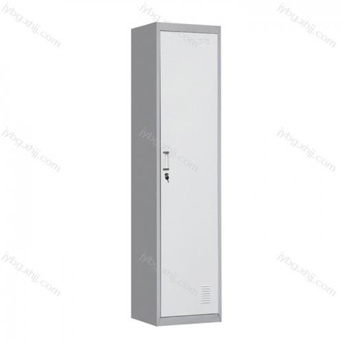 单门更衣柜 员工储物柜采购价格JY-CZ-10