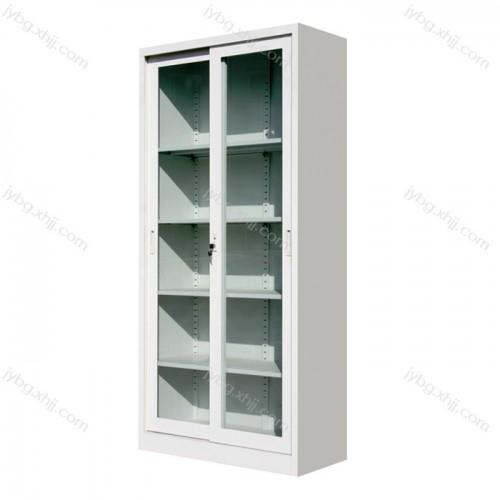 通体玻璃移门办公文件柜JY-BM-02