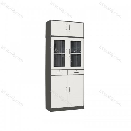 中二屉办公文件柜加顶资料柜JY-TS-04
