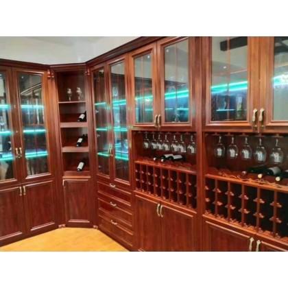 全铝定制家具 全铝酒柜