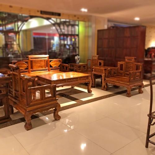 新中式红木家具 客厅沙发组合厂家01