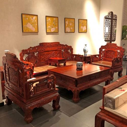 红木家具 明清古典实木沙发采购价格08
