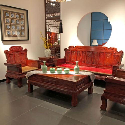 香河紫檀阁红木家具 古典明清实木沙发厂家10