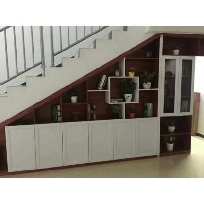 百家邦全铝家居 全铝定制楼梯柜