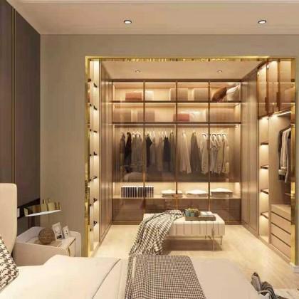 全铝家居 全铝定制现代简约卧室收纳柜
