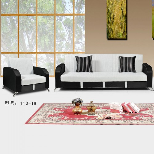 客厅定制家具 组合布艺沙发厂家  113-1#