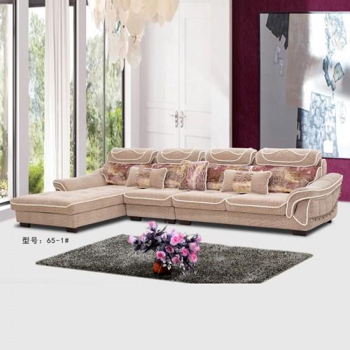 科技布布艺沙发 简约现代小户型 免洗沙发价格65-1#