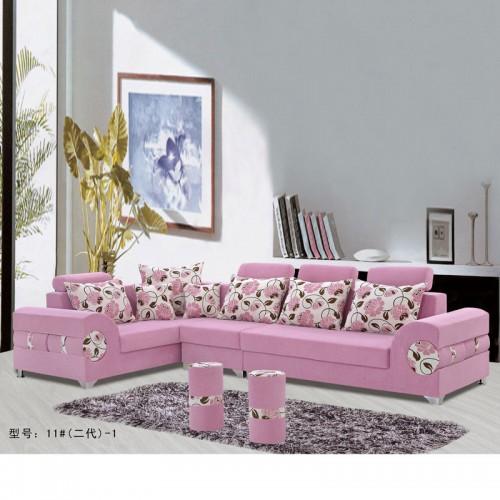 时尚现代客厅布艺沙发 贵妃休闲沙发厂家价格11#(二代)-1