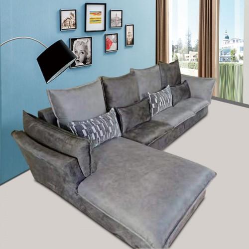 北欧风转角沙发 客厅