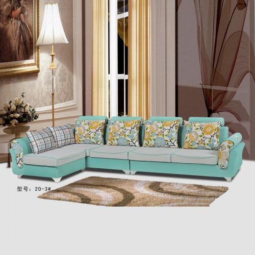客厅现代布艺沙发 转