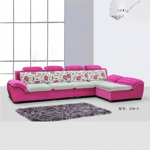 布艺沙发组合客厅整装转角沙发 23#-3