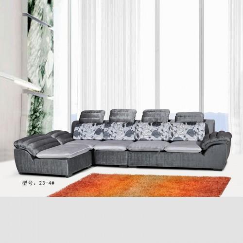 布艺沙发 品牌沙发 时尚现代转角沙发 23#-4