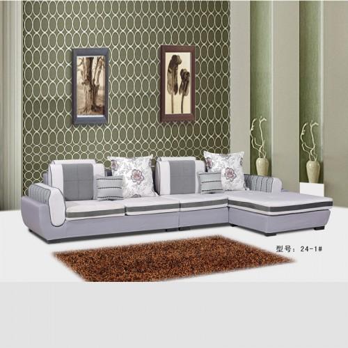 休闲沙发厂家 转角布艺沙发品牌供应商 24-1#