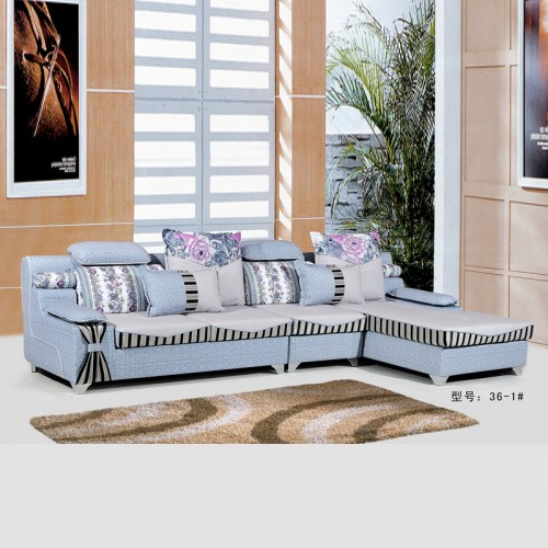 现代简易客厅布艺沙发转角沙发厂家36-1#